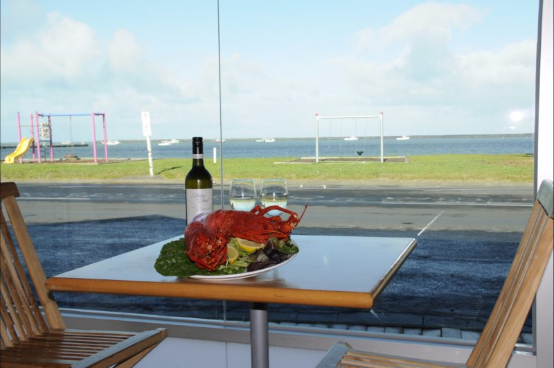Lobster with a view