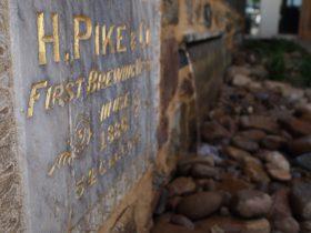 Beergarden water feature