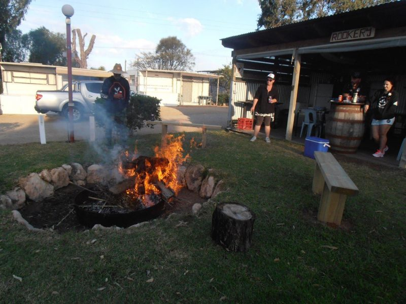 This is our Bbq Area on cool nights we will light the Bonfire(weather permitting)