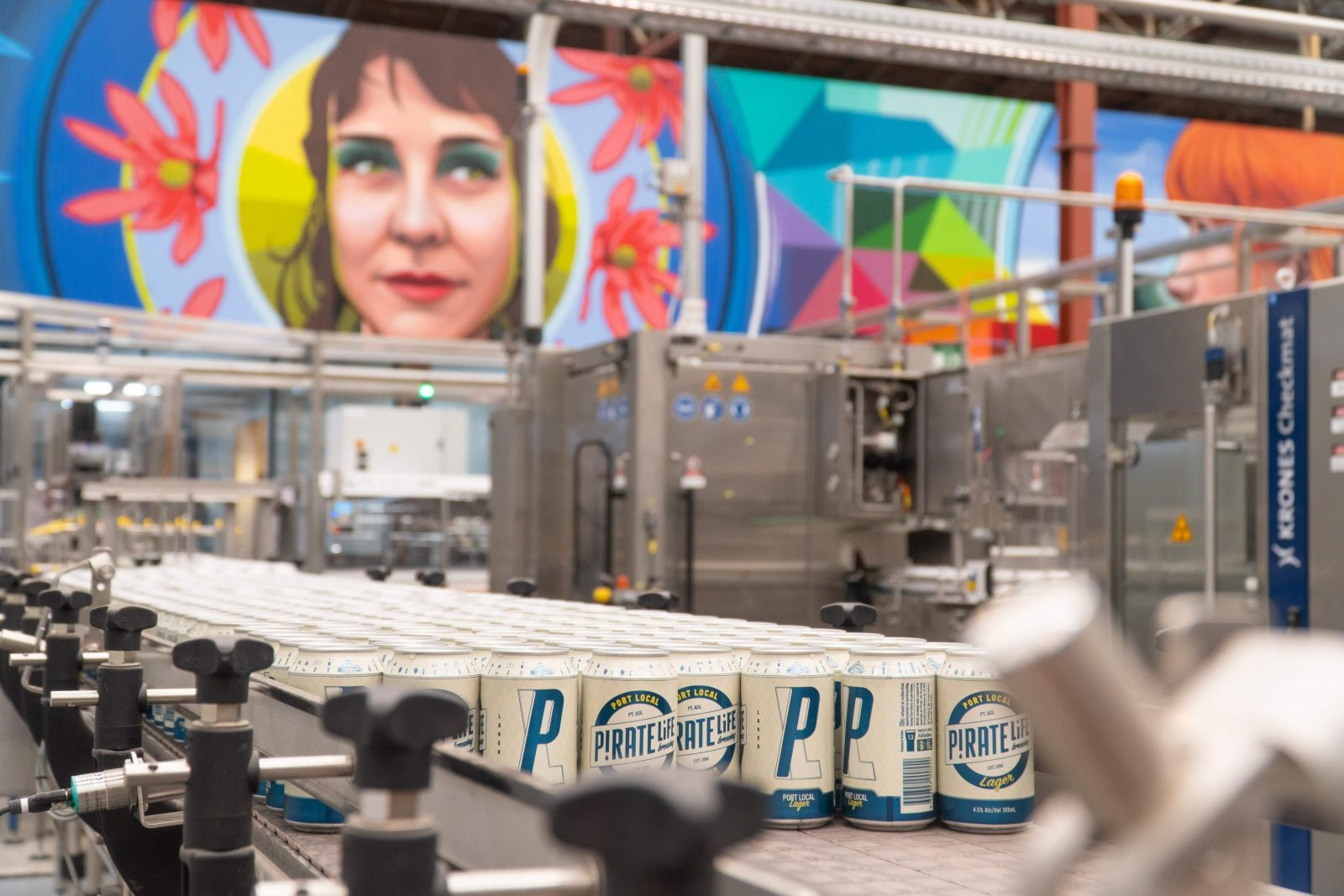 Pirate Life Brewing Canning Line