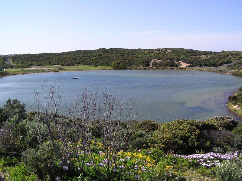 Salt lake view