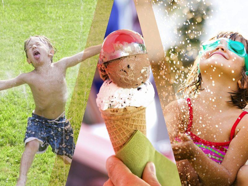 Pop-up cinema and sprinkler sessions