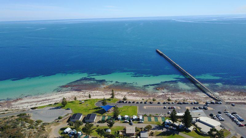 Port Hughes foreshore, Port Hughes