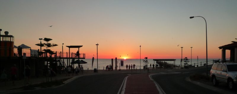Port Noarlunga Beach Sunset