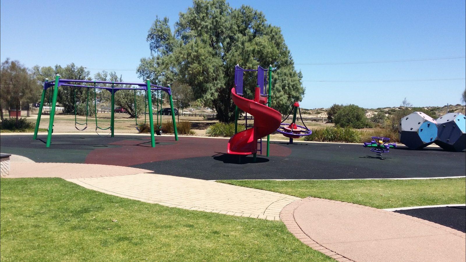Port Noarlunga Jubilee Adventure Playground Play Equipment