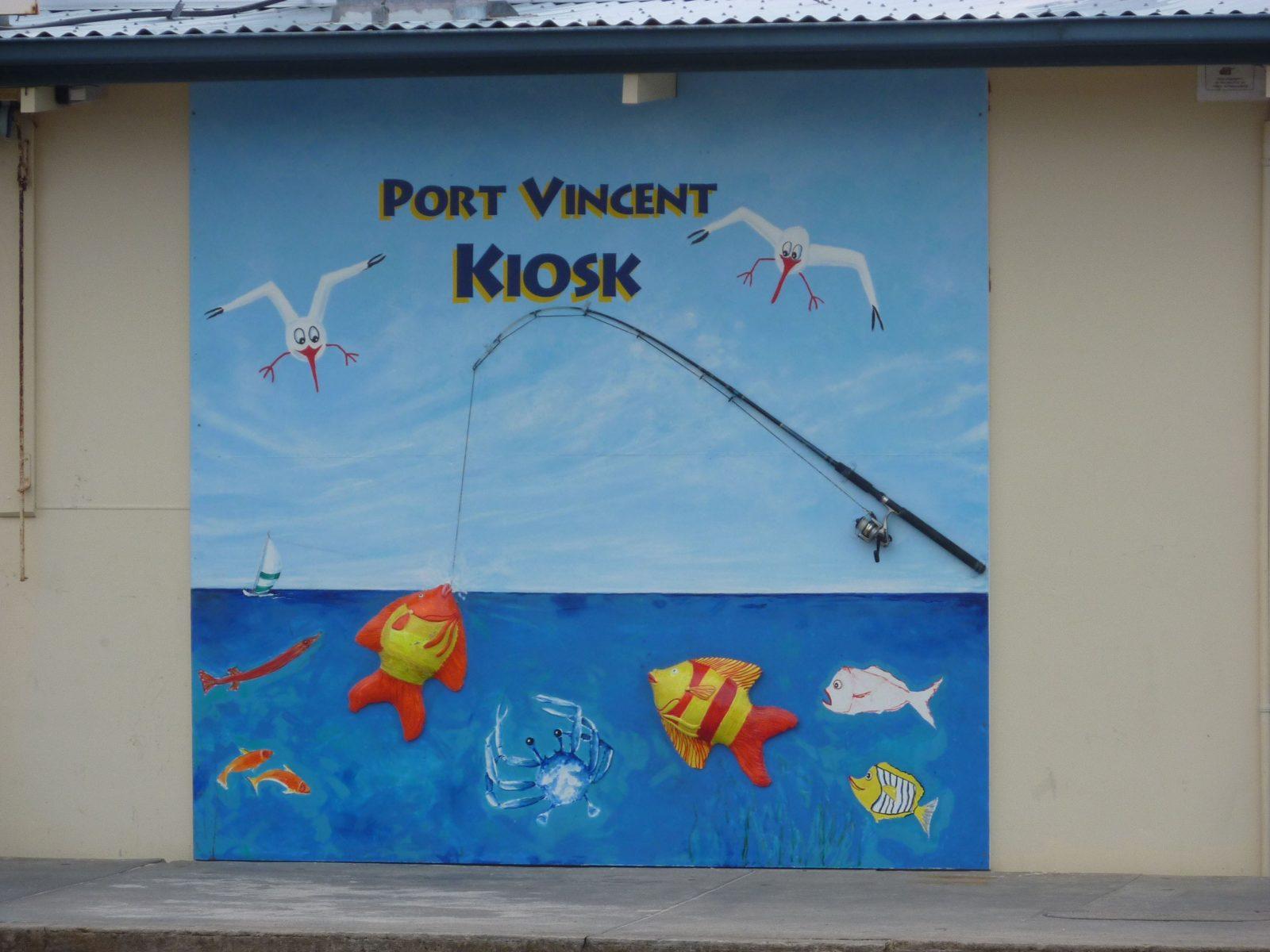 Port Vincent Kiosk