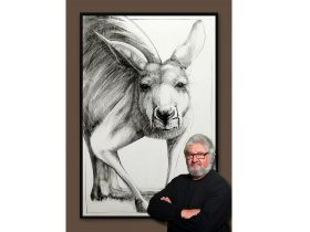 Portrait of a Kangaroo Exhibition