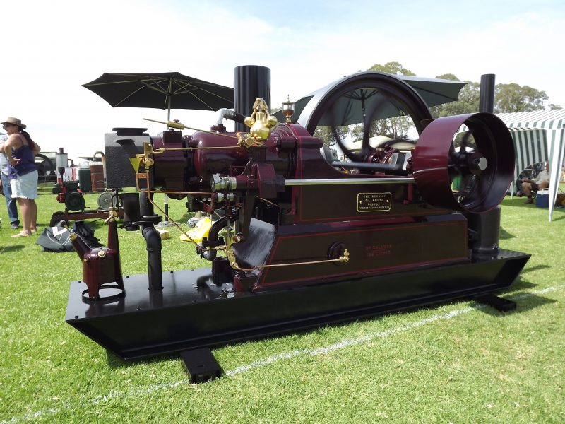 Some of the engines are very large and over 100 years old.