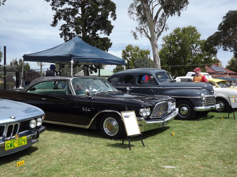 Many of the cars on display are classics from the 1940's, '50's and '60s.