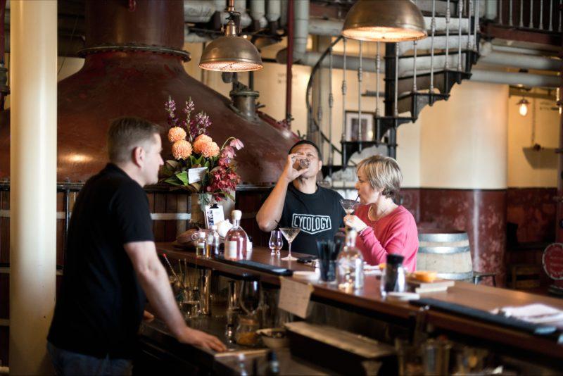 Barossa Distilling Tasting Bar