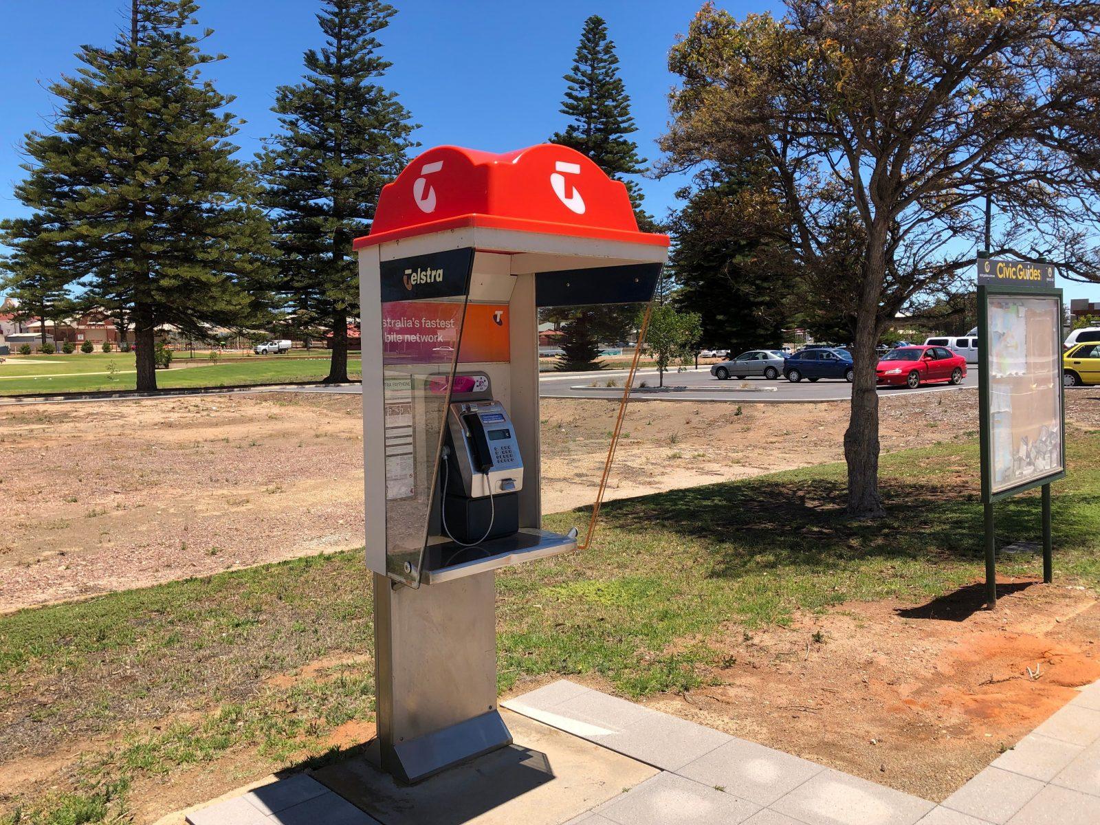 Public Pay Phone, Wallaroo