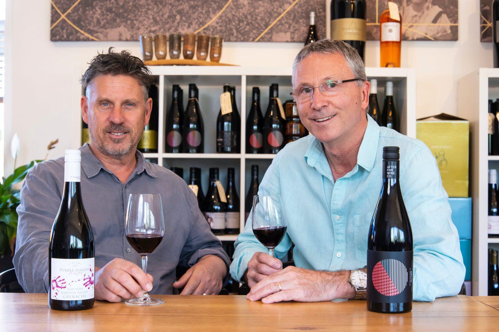 Purple Hands Wines team