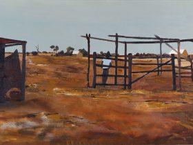Ray Crooke - Stockyard