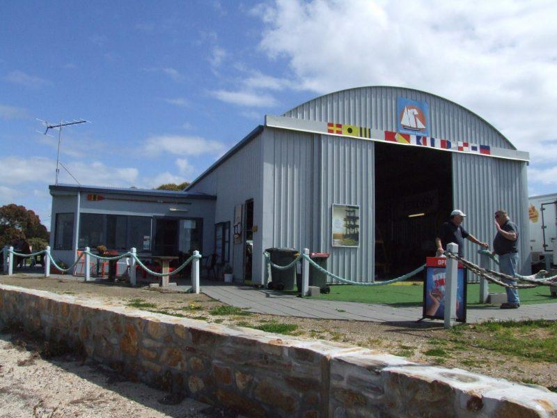 Boathouse and cafe