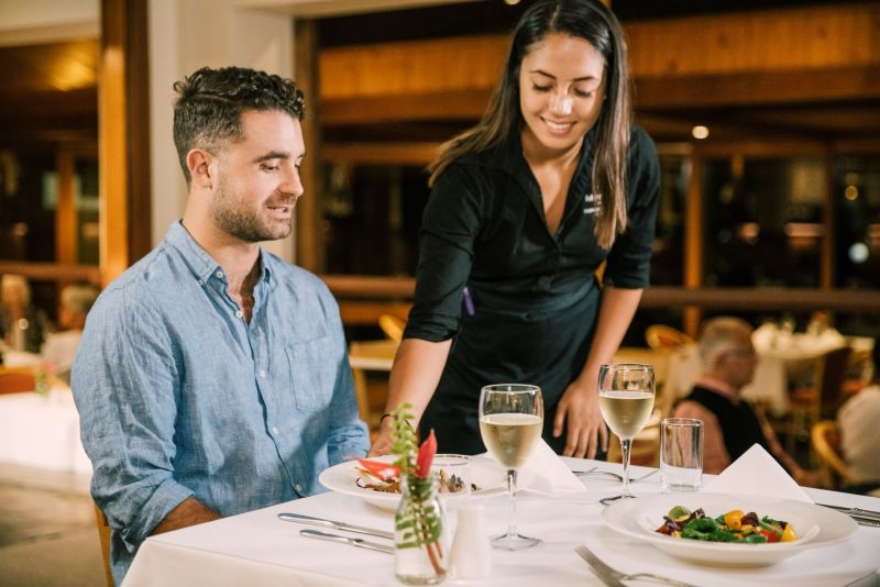 Enjoy dining in our award winning Reflections Restaurant