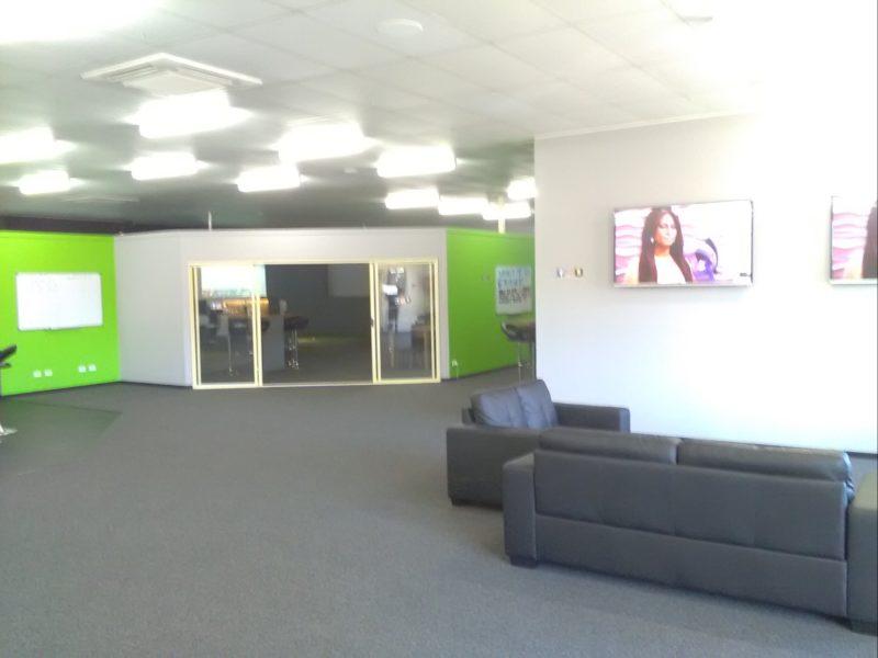 Main entrance into our spacious area