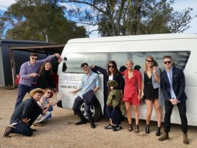 Rick's Minibus winery, brewery and distillery tours