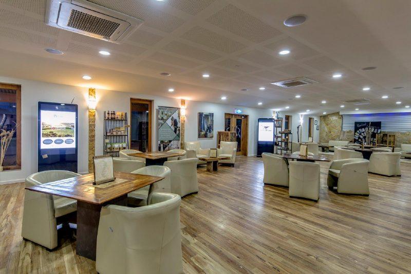 Riverland Wine Centre inside cafe area