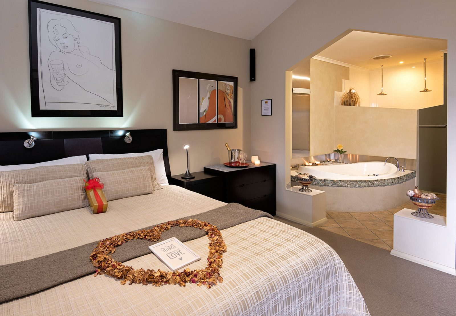 Studio bedroom in the Platinum Villa