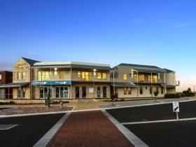 modern complex built in 2015