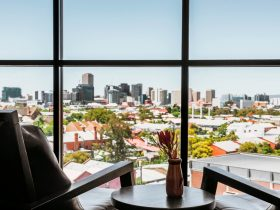 Skyline Bar & Lounge - City of Adelaide View