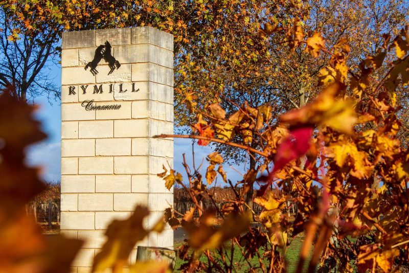 The stunning entrance to Rymill Coonawarra