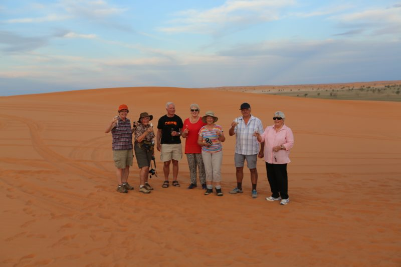 Touring to Birdsville and Big Red