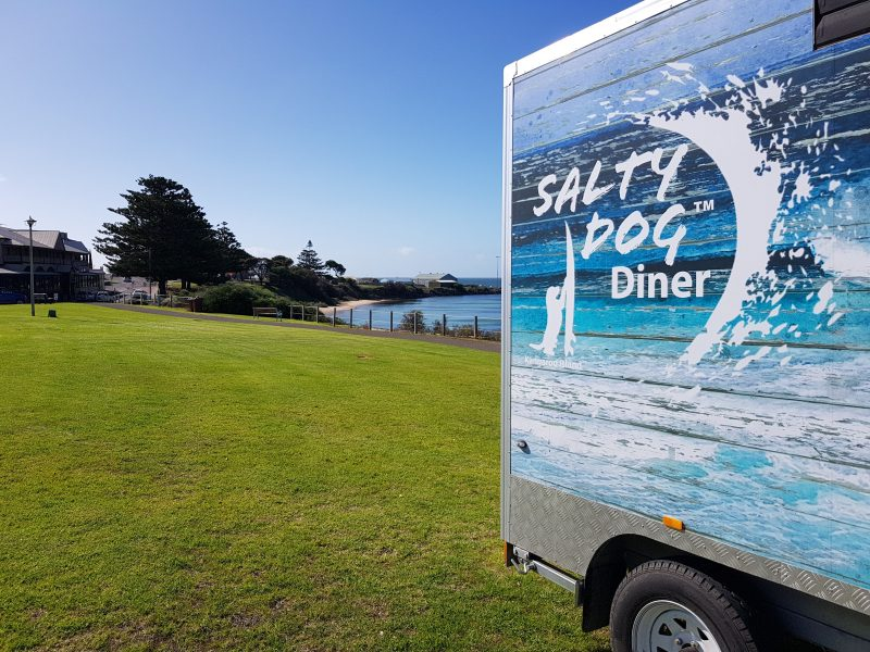 Salty Dog Diner on the Kingscote seafront