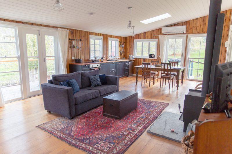 Sandalwood shearing shed - interior