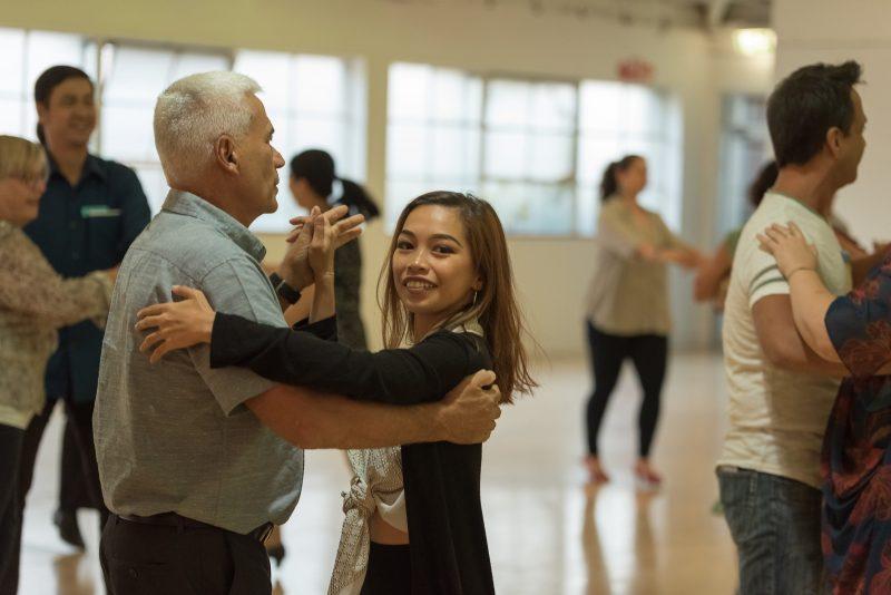 Gabby Rumba Dancing