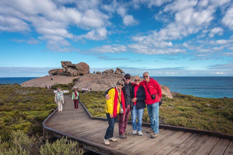Guests at Remarkable Rocks