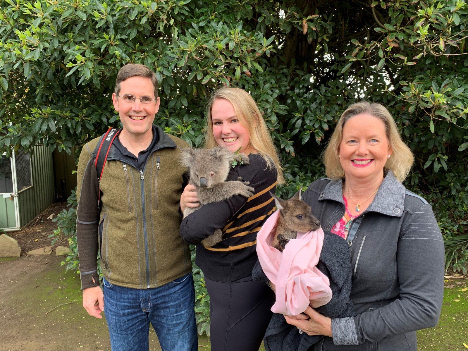 Guests at KI Wildlife Park