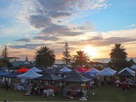 Sunset at the Twilight Markets