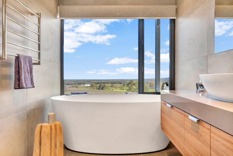 Bathroom views relax