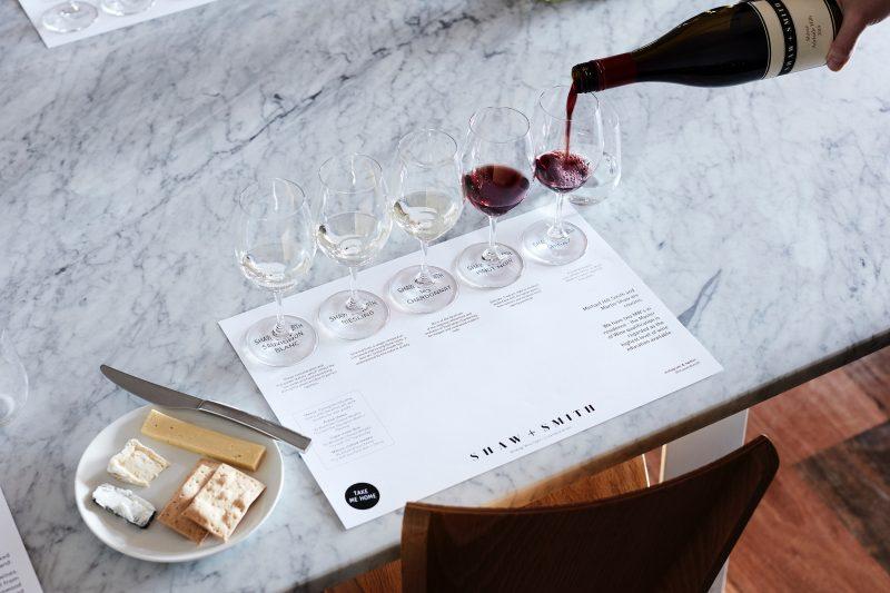 Shaw + Smith Wine Flight