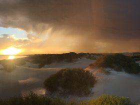 Shelly Beach Dune Walk Trail. Ridge top panoramic views, magnificent beach sunsets, bird watching.