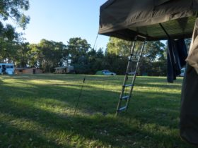 On site camping area/oval