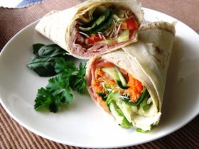 Chicken & Salad wrap
