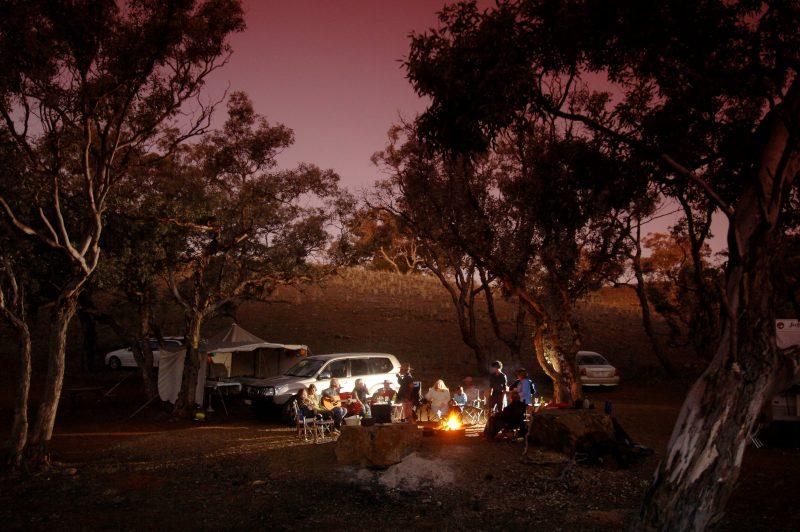 Bush Camping in the Flinders Ranges