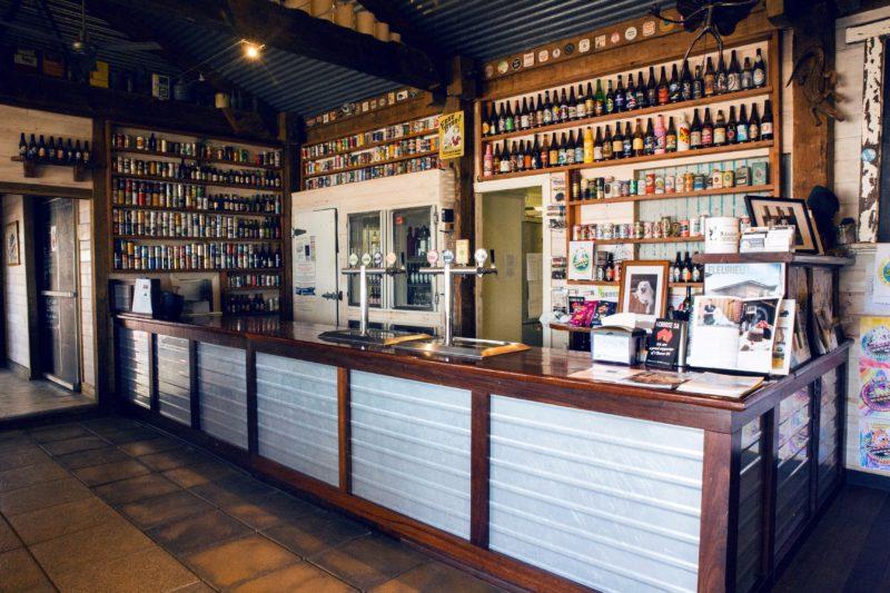 8 tap brewery bar