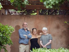 The Moody Family - Winemaker Rob, Matriarch Heather & Daughter Lucy
