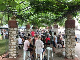 angaston, street party, street food