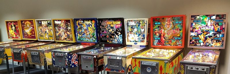 Just a few of our Classic Pinballs @ SAPA