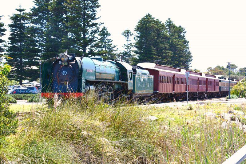 The South Coast Wine Train at Goolwa
