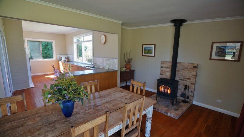 Deep Creek Homestead Kitchen Dining Area
