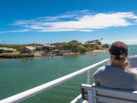 Very few livable areas exist in the Coorong area, this is one