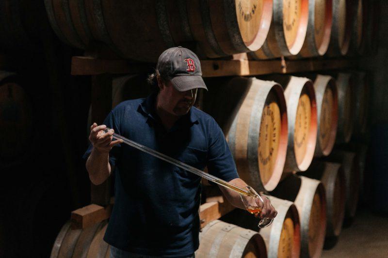 Master Distiller in Action