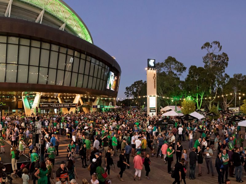 St Patrick's Day at Adelaide Oval