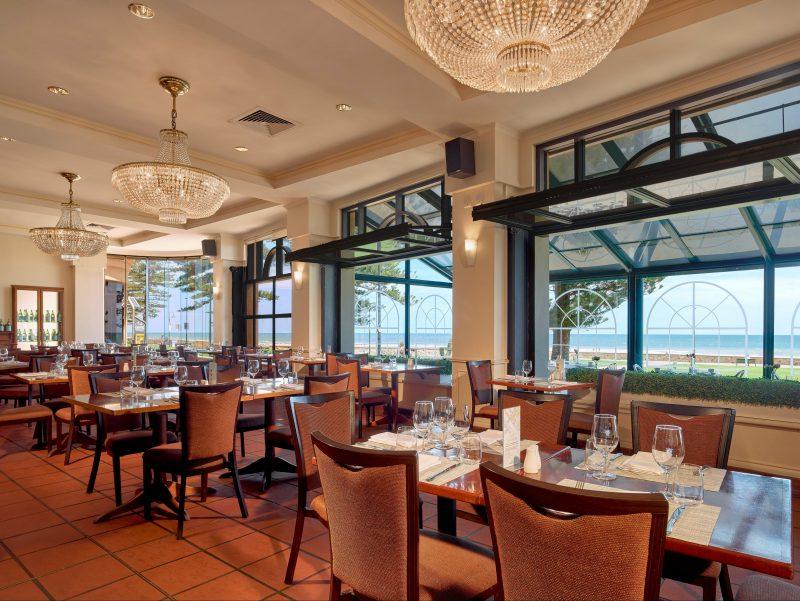 chairs, beachside, restaurant, promenade, beach, windows,