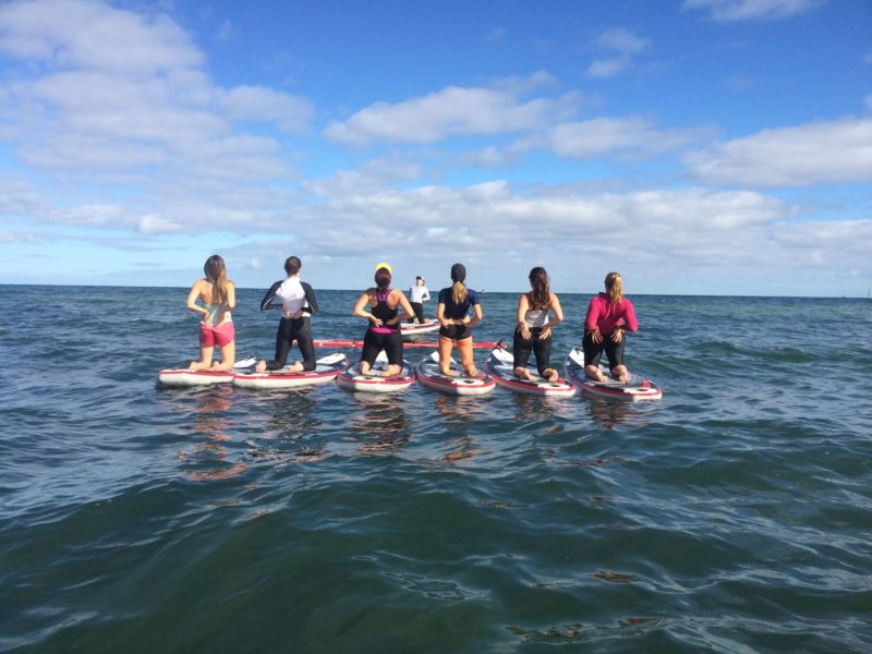 SUP Yoga with Stand Up Paddle SA